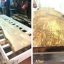 wood countertop sealer outdoor