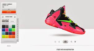 Design Your Own Lebron 11 Celeb Sneaker Game Nikeid Launches Nike Allstar Gumbo