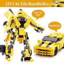 225 CHI TIẾT] Bộ Đồ Chơi Lắp Ráp Xếp Hình LEGO Tranformor Robot Biến Hình  BumBleBee, OTO Biến Hình tại Hà Nội