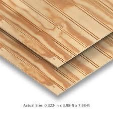 natural syp plywood panel siding