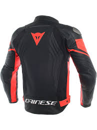 leather jacket dainese racing 3