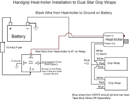 heated grip install question Hot Grips Wiring Diagram heated grip install question heatgrip_instruction jpg hot grips wiring diagram resistor