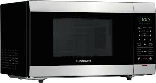 details about frigidaire 1 1 cu ft countertop microwave oven stainless steel ffcm1155us