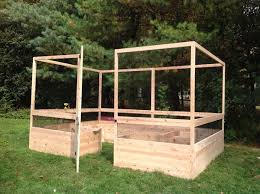 deer proof garden. Maine Kitchen Garden - 8\u0027x12\u0027 Deer Proof Raised Bed D