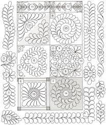 35 best quilting stencils images on Pinterest   Books, Doodles and ... & Free Quilting Motifs Patterns   Skillbuilder/Design Builder - Erica's Craft  & Sewing Center Adamdwight.com