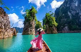 Wallpaper sea, girl, landscape, nature ...