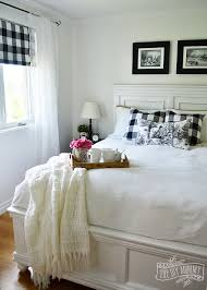 bedroom design on a budget.  Budget A Black And White Farmhouse Cottage Bedroom Design With Buffalo Plaid U0026  Toile Intended Bedroom Design On Budget E