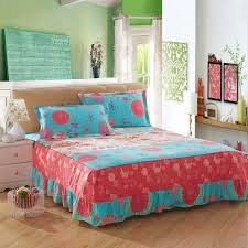 bed skirts for sale. Delighful Bed Hot Sale Printed Home Colchas Princess Bedding 100 Cotton One Piece  Beautiful Fancy Bed Skirts With For