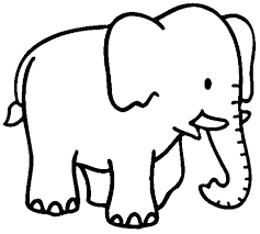 Baby Girl Elephant Coloring Pages Baby Elephant Coloring Pages