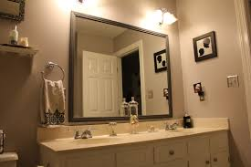 large mirrors for bathroom. Framed Bathroom Mirrors Also Small Mirror With Lights Frame Your Own Large For O