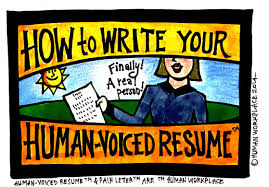 Human Voiced Resume Example How To Write Your Humanvoiced Resume ← My Career Info 36
