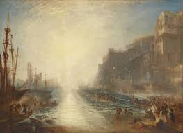 jmw turner regulus 1828 reworked 1837 oil paint on canvas support 895 x 1238