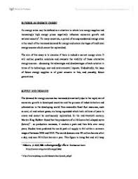 "essay on energy crisis essay on ""energy crisis in the world"" complete essay for class 10"