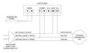 ranco etc wiring diagram wiring diagram how to wire a ranco digital temperature controller homebrewing