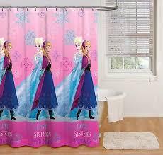 disney frozen love sisters friends shower curtain 72 x 72 new