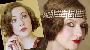 back in time 1920 s makeup technique daytime evening