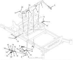 Gravely 992254 040000 040999 pro turn 260 parts diagram for brakes diagram brakes