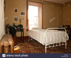 Schlafzimmer Der Magd Oder Haus Diener Aus Dem Frühen 20