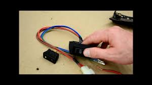 how to wire door lock and power window switches youtube 5 pin power window switch wiring diagram at Gm Window Switch Wiring Diagram