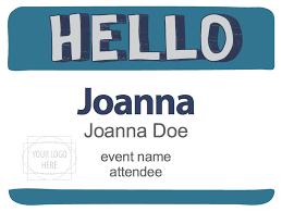 Event Badge Template Free Name Badge Designs Creative Name Tag Design Pc Nametag