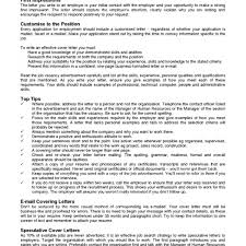Example Cover Letter For Teaching Position Writing An Effective Cover Letter 10 Application For A At