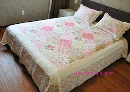 X LONG Quilting Quilts 2.4*2.6m faux Silk USA Brand Name LUXE HOME ... & cheap bed spread cotton quilting full king size 3pcs set pink bedsheet  duvet bed cover summer cool water washed quilts discount Adamdwight.com