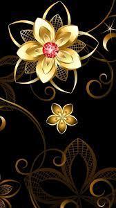 Golden Flower Wallpapers - Top Free ...