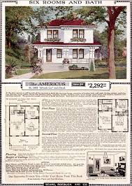Americus   Sears Kit Homes   Artistic Eclectic Craftsman     Sears   Americus