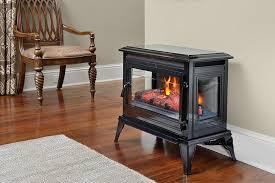 electric fireplace stove. comfort smart jackson black infrared electric fireplace stove with remote control - cs-25ir-blk