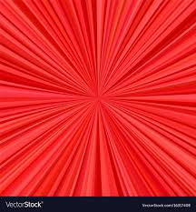 Radial Red Red Explosion Background From Radial Stripes Vector Image