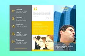 make tri fold brochures free publisher templates for mac fold brochure 3 template