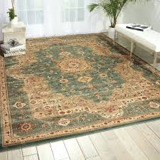 decoration antiquities imperial garden slate blue sage area rug by home gallery kathy ireland shaw