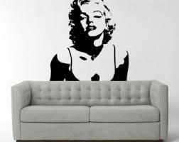 Small Picture Marilyn monroe decal Etsy