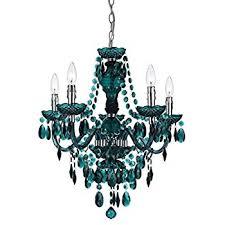 turquoise chandelier lighting. AF Lighting 8525-5H Fulton 5 Light Chandelier- Green Turquoise Chandelier N