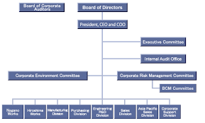 General Information Organization Chart And List Of