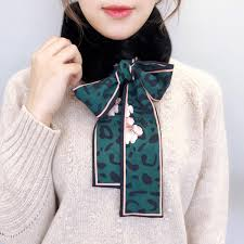 <b>1 Pcs Women</b> Scarf Plush Collar Wrap Neck Bow Tie Warmer ...
