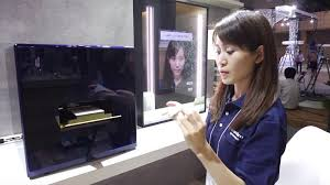 panasonic smart mirror tells you what s wrong with your face then 3d prints the makeup