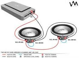 car speaker wiring diagram crutchfield images subwoofer wiring diagrams two 4 ohm dual voice coil dvc