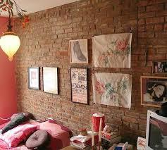 brick interior wall