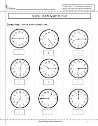 timetoquarterhour telling time to the half hour worksheets addition fact on one and two step equations worksheet