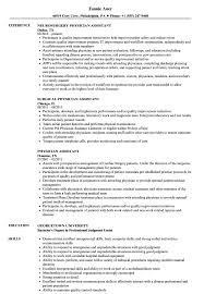 Physician Assistant Resume Samples Velvet Jobs