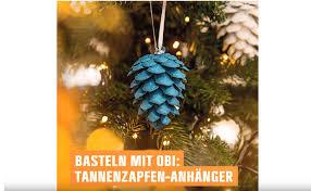 Videoanleitung Weihnachtsbaumschmuck Aus Tannenzapfen