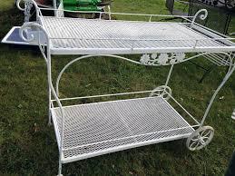 Wrought Iron Outdoor Furniture  Vintage Iron Patio FurnitureWoodard Wrought Iron Outdoor Furniture