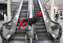 wheelchair escalator gif. http://i.imgur.com/cetkbje.gif wheelchair escalator gif