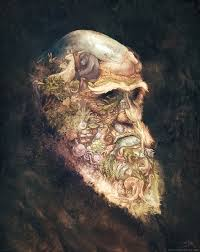 portrait of Charles Darwin - David Revoy