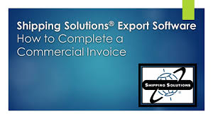 Create A Commercial Invoice How To Complete A Commercial Invoice