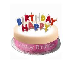 B Cake Pink Birthday Cakes United Kingdom