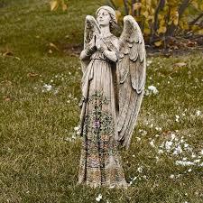 angel garden. Praying Angel Garden Statue D