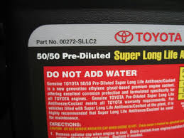 Toyota Super Long Life Antifreeze/Coolant | Tacoma World