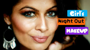 s night out makeup look collab with shabani beautyconfessionz kavya k